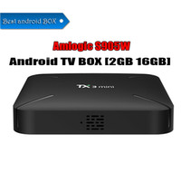 Wholesale t95m android tv box for sale - Group buy TX3 MINI Android TV Box Amlogic S905W Krypton GB GB GB GB Better T95M X96 MXQ PRO Free Ship