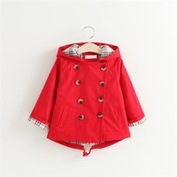 Wholesale cute jackets for spring for sale - Group buy Children s cute jackets girl s cartoon coats outerwear solid Korean style clothes for years kids