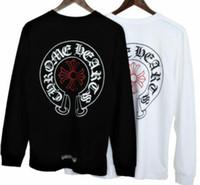 ingrosso maglioni boutique-Boutique maglione da uomo Europa e gli Stati Uniti popolare moda girocollo modello di stampa uomini e donne traspirante nuovo pullover