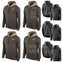 Wholesale Camping England - Men's Women Youth Minnesota # Viking New England # New Orleans Saint New York Giant Patriot alute to Service Sideline Therma Pullover Hoodie