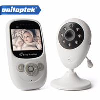 Wholesale Digital Walkie Talkies - 2.4GhZ Wireless 2.4 inch LCD Audio Video Baby Monitor Radio Nanny Music Intercom IR Portable Baby Security Camera Walkie Talkie