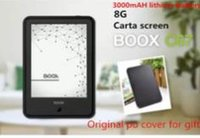 Wholesale E Book Reader Wifi - Wholesale- Original ONYX BOOX C67ML Carta E book+case with 3000mAH lithium battery Touch Eink Screen EBook Reader 8G WIFI Frontlight