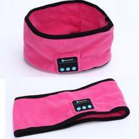 ingrosso indumenti da notte a maglia-Nuove cuffie 2018 Bluetooth Music Headband Knit Sleepwear Headwear Headphone Speaker Headset per Sport 1pcs
