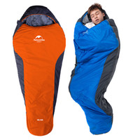 sacos de dormir para adultos al aire libre al por mayor-Saco de dormir para acampar Envolvente Momia Ligero al aire libre Portátil Impermeable Perfecto para viajar Senderismo Actividades 2 estilos H225Q