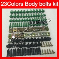 Wholesale abs plastic yzf r1 for sale - Group buy Fairing bolts full screw kit For YAMAHA YZFR1 YZF R1 YZF YZF1000 YZF R1 Body Nuts screws nut bolt kit Colors