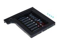 hochwertige festplatten großhandel-Qualität Festplatte 1 TB 2. HDD Caddy 9,5 mm SATA 3,0 SSD Hard-Flash-Laufwerk Gehäuse Für Notebook CD ROM Optibay