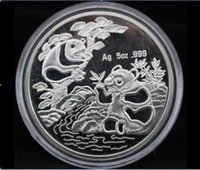 Wholesale Details about china coin shanghai mint Ag oz panda silver COIN