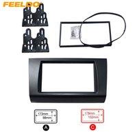 marco de dvd de coches al por mayor-Fascia estéreo Adaptador marco del panel FEELDO de coches reproductor de DVD / CD Radio Kit de montaje para SUZUKI Swift # 4397