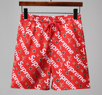 Wholesale male covers - GOOD Board Shorts Mens Summer Beach Shorts Pants High-quality Swimwear Bermuda Male Letter Surf Life Men Swim Tiger sup Shorts g pants 2512