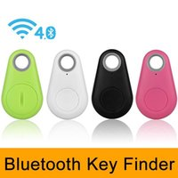 Wholesale gps tracker for cats - iTag Mini Smart Finder Bluetooth Tracker Key Wireless Tag For pet cat kids GPS Alarm Smart Tracker anti-lost Finder For ios Android