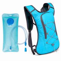 ingrosso zaino idratante 2l-Nuovo marchio Camelback Water Bag Tank Backpack Escursionismo Motorcross Riding Backpack con sacca di idratazione 2L Water Bag