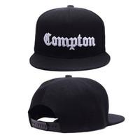 boné de beisebol do compton venda por atacado-12 Cores Mens Compton Snapback Chapéus Osso Gorras Ganhos LA Snapbacks Compton Hip Hop Boné de Beisebol Para Adulto