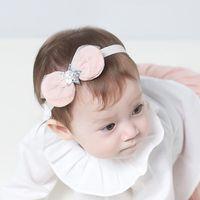 ingrosso stelle dei capelli accessori-Baby Headband Star Bowknot Pattern Headwear Headbands Hair Decoration Bowknot Headwear Accessori per capelli