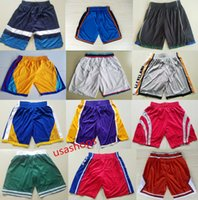Wholesale elastic balls - 2018 Basketball SHORTS irving james curry kuzma Wade durant westbrook embiid Antetokounmpo harden tatum simmons ball lavine pants