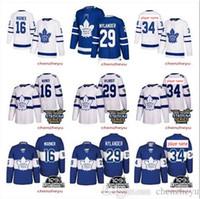 Wholesale Leafs Toronto - 2018 Men's Toronto Maple Leafs Stadium Series jersey 34 16 Mitch Marner 29 william nylander hockey Jerseys