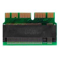 ssd kartları toptan satış-Yeni Yüksek Hızlı PCI-E x4 M.2 NGFF SSD Kart Converter Adaptörü Apple MacBook Hava / Pro SSD Adaptörü Genişletici Kart Sıcak Satış
