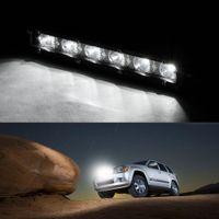 Wholesale Offroad Spotlights - New 6000K 18W 12V LED Work Light Bar Spotlight Flood Lamp Driving Fog Offroad LED Work Car Lights for Ford Toyota SUV 4WD Boat