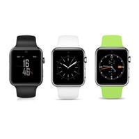 arc android großhandel-Bluetooth Smart Watch 2.5D ARC HD Bildschirm Unterstützung SIM Karte Tragbare Geräte SmartWatch Magischen Knopf Für IOS Android Telefon