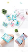 Wholesale tongs summer resale online - Summer Recycle Ice Bag Travel Portable Outdoors Cool Pack Cartoon Cold Bags Unicorn Flamingo pineapple pineapple zu KK