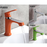 Wholesale Painting Bathroom Faucets - Frap Mixer Faucets Home Bathroom Faucet Basin Mixer Tap Cold-Hot Water Taps Brass Spray painting Robinet Torneiras F1031