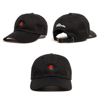 Wholesale Rose Snapback - The Hundreds Rose Baseball Cap Snapback hats fashion design brand Rose Dad Hat sports hip hop sun Golf hat bone gorras cheap mens Casquette