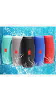 Wholesale 1200mAh Charge Wireless Bluetooth Speaker Battery Support Power Bank Function TF Card Portable Waterproof Speakers DHL shipping