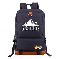 a0c642b63cfe Wholesale Fortnite Battle Royale Travel Backpack Unisex Kids School  Shoulder Bags Backpack Teenager Students Bag Sports