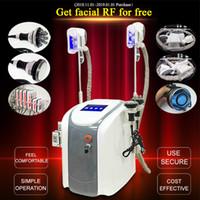 máquina de lipoferina venda por atacado-Máquina de congelamento gordo original Cryotherapy do emagrecimento de Zeltiq Cryolipolysis Máquina RF do laser da lipoaspiração do RF do ultra-som do RF da cara