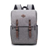 Wholesale retro school backpacks resale online - 2018 Retro Men Women Canvas Backpacks School Bags For Teenagers Boys Girls Laptop Backpack Leisure Travel Rucksack