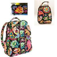 küçük öğle yemeği çantaları toptan satış-2 küçük Set Sırt Çantası Öğrenci Okul Sırt Çantası öğle yemeği çantası ücretsiz kimlik tutucu