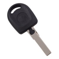 Wholesale transponder key cover - Car Key Blank Shell for Volkswagen B5 VW Passat Transponder Key Case HU66 Key Cover