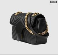 ingrosso portafogli in pelle per le donne-Vendita calda Moda Vintage Borse Borse donna Designer Borse Portafogli per donne Borsa a tracolla in pelle con tracolla e borse a spalla # 78