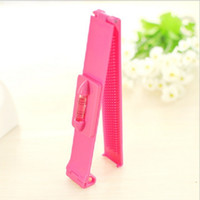 Wholesale cute hair bangs - Hot Women Girl Hair Trimmer Fringe Cut Tool Clipper Comb Guide For Cute Hair Bang Level Ruler Accessorie   by dhl 1000pcs