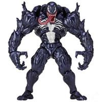 Wholesale venom figures - Venom PVC Action Figure Toys Collection Model Spider Man Movie Peripheral Toys For Kids Gifts Chrismas DDA296