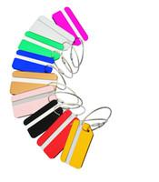 anéis chaves venda por atacado-New Boarding colorido passagem Aircraft Avião bagagem ID Etiquetas de Embarque Viagem Endereço Card Case ID Bag etiquetas do Tag do cão Cartão Coleção Chaveiros
