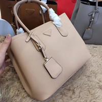 hakiki deri çapraz vücut çanta toptan satış-Pembe sugao kadınlar lüks ünlü marka çanta tote debriyaj çanta hakiki deri en kaliteli tasarımcı çanta bayanlar moda çantalar crossbody çanta