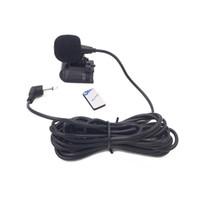 carro dvd player bluetooth rádio venda por atacado-Faça Promoção! Mais novo 3.5mm Car Radio Stereo Microfone Bluetooth Veículo Microfone Externo para GPS Player Enabled Áudio DVD