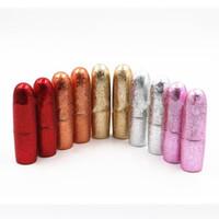 Wholesale homemade packaging - Bullet Shape Empty Lipstick Tubes Homemade Lip Balm Tube Packaging Material Inner Diameter 12.1mm fast shipping F322