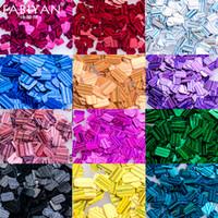 potes de gel de unhas uv venda por atacado-12 Pote Nail Art Decoração Colorida Glitter Lantejoulas Jóias 3D Dicas DIY Design Ferramentas Manicure Acrílico UV Gel Polonês Acessórios