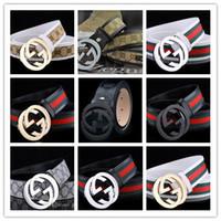 Wholesale G Men Belts - 2016 Time-limited G Buckle Designer Belts Men of High Quality Genuine Leather Belt Ceinture Homme Men's Alloy Brand Luxury Waistband