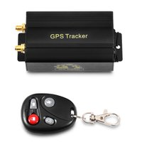 Wholesale cut monitor - GPS Tracker Car Tracking Device Crawler Retainer Coban TK103B Cut Off Oil GSM GPS Locator Voice Monitor Shock Alarm FREE Web APP