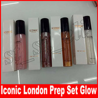 Wholesale bronze setting for sale - Group buy Iconic London Prep Set Glow Setting Spray Long lasting highlighter bronze ml colors