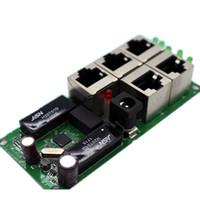 mini pcb toptan satış-OEM yüksek kalite mini ucuz fiyat 5 port anahtarı modülü manufaturer şirket PCB kurulu 5 limanlar ethernet ağ anahtarları modülü