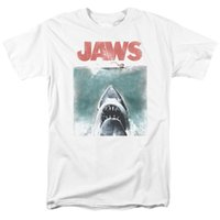 Wholesale posters women for sale - Group buy Jaws Vintage Poster T shirts for Men Women or Kids New T Shirt Men Fashion T Shirts top tee