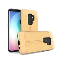 Wholesale newest lg phones for sale - Group buy Leather phone case For LG K10 Stylo Motorola MOTO E5 E5 plus Coolpad Legacy TPU PC Anti Fall Newest Hot sell oppbag