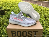 Wholesale Fishing For Sale - Originals 350 V2 Boost Blue Tint B37571 Sply 350 Running Shoes for Men Kanye West BELUGA Fluorescent Green Yebra Sneakers Online Sale