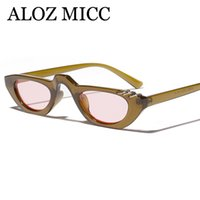 Wholesale purple male rings for sale - Group buy ALOZ MICC Vintage Women Sunglasses Unique Round Iron Rings Eyewear Brand Designer Candy Sun Glasses Female Male A605