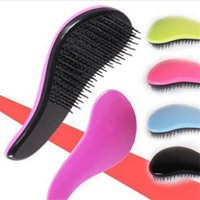 Wholesale Red Hairbrush - Healthy Massage Hairbrush Detangling Magic Hair Styling Comb Beauty Tool