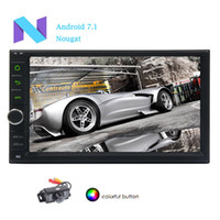 Wholesale Gps Music Player - EinCar Radio 7'' Android 7.1 Car Navigation Stereo in Dash 2Din Car Entertainment Video Music MP3 Player GPS Navigation Unit WIFI BT