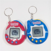 Wholesale electronic bird resale online - Tamagotchi Digital Pets Retro Game egg shells Vintage Virtual Cyber Pets Funny Toy Mini E Pets for Child Kids Adult Christmas Gift NEW